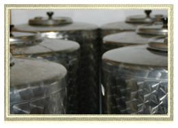 Lagerfässer für ganz besondere Tropfen